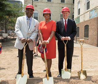 July 6, 2018 MMB Kicks Off Renovations at Historic Stevens School
