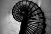 Lighthouse Staircase (laneeyoder) Tags: lighthouse staircase monochrome bw