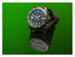 "Breathing  Watch Chronospace military: Green (johnhjic) Tags: breathing watch chronospace militasry nikon ""nikond850"" d850 studio style broncolor siros flash reflection johnhjic military breathingwatchchronospacemilitary time breathingchronospacemilitary swiss"