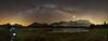 Milchstraße über dem Schmalensee bei Mittenwald (Lars Melzer) Tags: berge mittenwald milchstrase sterne stars milkyway germany deutschland panorama panoramafotografie schmalensee see nachtfotografie nachtaufnahme