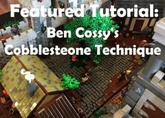 Featured Tutorial: Cobblestone (-soccerkid6) Tags: lego moc model design technique snot cobblestone path featured tutorial guide brickbuilt