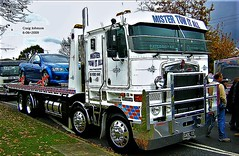 photo by secret squirrel (secret squirrel6) Tags: secretsquirrel6truckphotos craigjohnsontruckphoto australiantrucks bigrigs worldtrucks truckphotos kenworth cabover visor towtruck