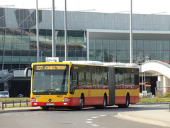 "Mercedes Conecto LF Euro 6, #9802, ""Mobilis"" Mościska dept Warsaw (transport131) Tags: bus autobus mercedes conecto lf mobilis group ztm warszawa wtp"