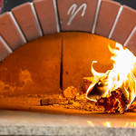 Pizza oven in a pizzeria in Moscow thumbnail