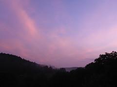 Sonnenuntergang im Helenental (2) (judyx21) Tags: himmel sonnenuntergang helenental