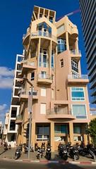 Interesting architecture in Tel Aviv (jonarnefoss2013) Tags: sony israel telaviv architecture