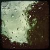 Deluge (Creepella Gruesome) Tags: iphone6splus hipstamatic car window rain drops nature tree squareformat abstract eerie mysterious phantasm