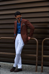 Dapper Chap (Boy From Dagbon) Tags: ifttt 500px summer fashion week pitti streetstyle tailored tailoring fashionweek