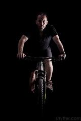 Self (#Weybridge Photographer) Tags: studio portrait adobe lightroom canon eos dslr slr 5d mk ii mkii self selfie mountain bike biking cycle specialized camber low key