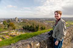 Matt at Stirling Castle (Courtarro) Tags: hdr mattmalone scotland stirling stirlingcastle building castle cemetery person