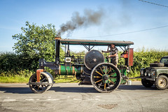 Kelsall to Acton Bridge road run (Ben Matthews1992) Tags: 1916 aveling porter steam roller 8727 tc2173 traction engine kelsall rally cheshire uk england britain british rolling road run delamere forest old vintage historic preserved preservation