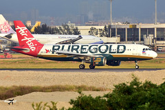 "AirAsia Airbus A320-214 RP-C8975 (""Puregold"" livery). (* Raymond C.*) Tags: airasia airbus a320 rpc8975 puregold tpe rctp ak"