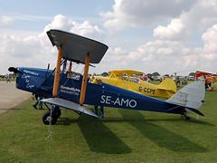 SE-AMO De Havilland DH60 Moth Replica (johnyates2011) Tags: laarally2017 laarallysywell2017 sywell seamo dehavilland dehavillanddh60moth dh60moth