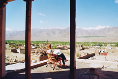 . (Careless Edition) Tags: ladakh india film photography nature landscape town house view