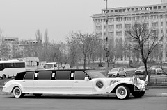 Hide your dalmatians (Valantis Antoniades) Tags: romania bucharest classic car cruella de vil monochrome black white