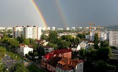 DSCF0685a_jnowak64 (jnowak64) Tags: poland polska malopolska cracow krakow krakoff bronowice krajobraz architektura natura tęcza lato mik