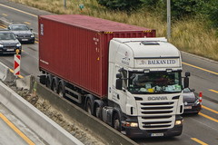 Scania R440 E5 Topline 6-Series - Ex UK, Balkan LTD Kardzhali, Bulgaria (Celik Pictures) Tags: trucks vrachtwagens truckspotting e313snelweg shootedonhighway takenonbridge spottingvehiclesfromabridge spottedoverthebridge overthebridge transportinaction scania ab belgië belgiën belgique belgium bulgaria bulgarije seenat313snelweg seeninbelgium ex uk balkan ltd kardzhali truckwheelsturning