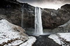 Islande, Skógafoss, 28 (Patrick.Raymond (5M views)) Tags: islande cascade hdr froid gel hiver nikon skogafoss
