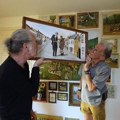 20180712 kenners (enemyke) Tags: pixeldiary juli 2018 johan jan amigos amigo salon hetsalon expositie peet padre vader pa schilderij painting paintings