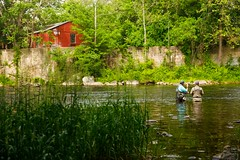 Collinsville, CT - 6/19/17 - #365 (joefgaylor) Tags: collinsville connecticut newengland rural bucolic farmington farmingtonriver fishing fly flyfishing