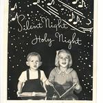 Silent Night Christmas Card thumbnail
