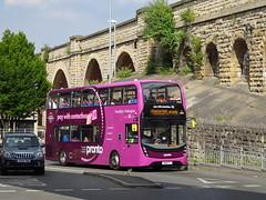 Stagecoach 10974 Mansfield (Guy Arab UF) Tags: stagecoach east midlands 10974 sn18ktj alexander dennis e40d enviro 400mmc mansfield bus station pronto nottinghamshire buses