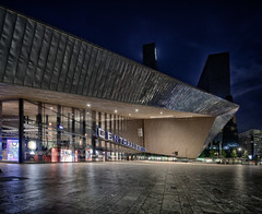 Rotterdam - the new central station on a Thursday evening (JustJan) Tags: exif:model=nikond850 exif:make=nikoncorporation exif:aperture=ƒ40 exif:focallength=16mm camera:model=nikond850 geolocation exif:isospeed=64 exif:lens=160350mmf40 camera:make=nikoncorporation rotterdam nightshot bluehour cityscape hdr postprocessing centralstation stationsplein plein centraal station