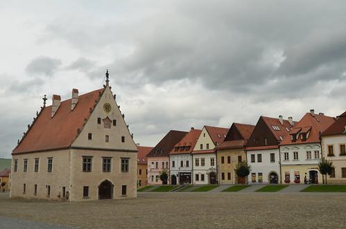 Bardejov's old square XII