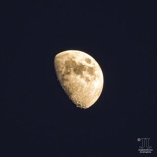 Der zunehmende Mond über Gran Canaria