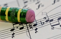 Trusty Number 2 (Cathy de Moll) Tags: macromondays erasers macromonday pencil eraser music erase piano