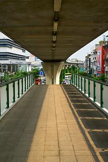 Punnawithi BTS station, Bangkok, Thailand