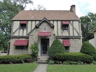 Maywood, IL, House Walk, English Tudor House, 1009 N. 4th Ave.