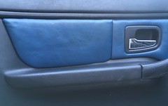 Repaired door panel insert (Pim Stouten) Tags: interior interiör interieur z3 roadster bmw e36 leather leer leder 3dprint