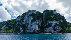 Two Lovers' Point (CM Yee) Tags: rock sky water cliff tree grass lanscape guam