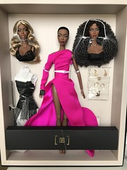 The Faces Of Adèle 2017 W Club exclusive (Minimodel) Tags: face adèle makéda fashion royalty integrity toys