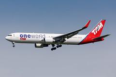 PT-MOC TAM Boeing 767-316(ER) (buchroeder.paul) Tags: limc mxp milan malpensa europe final ptmoc tam boeing 767316er