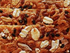 21 Grain Bread (oldhiker111) Tags: bread macro seeds