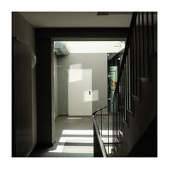 689456732512345621 (Melissen-Ghost) Tags: fujifilmx100f fuji film simulation x100f grain classic chrome 6x6 square format germany shadows artifical light darkish color photography street strasenfotografie architektur architecture