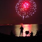 Canada Day Fireworks, Bronte Harbour, Oakville, ON thumbnail
