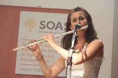 Baque Luar (2018) 13 (KM's Live Music shots) Tags: worldmusic greatbritain maracatu coco ciranda candomble afrobrazilianmusic baqueluar concertflute flute soasconcertseries soas