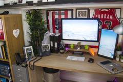 Office 2018 (Bridge Computers) Tags: office workspace lifehacker command geek apple appleoffice imac macbook groot iphone