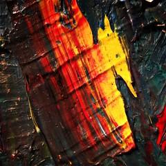 splash (Chris Blakeley) Tags: seattle hipstamatic seattleartmuseum oilpaint oilpainting painting hanshofmann