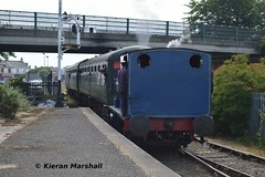 3BG, Whitehead, 7/7/18 (hurricanemk1c) Tags: railways railway train trains 2018 rpsi railwaypreservationsocietyofireland whitehead hudswellclarke guinness 3bg
