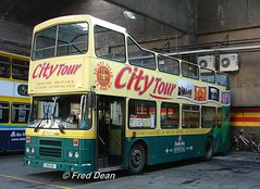 Dublin Bus RH21 (90D1021). (Fred Dean Jnr) Tags: april2006 dublin dublinbus busathacliath olympian dbrook dublinbusdonnybrookgarage donnybrook leyland dublincitytour opentop rh21 90d1021 bstone