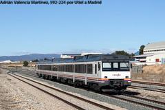 El factor sabio (Adrián Valencia Martínez) Tags: renfe camello 592 diesel utiel md