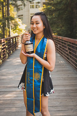 IMG_4554 (michelllephant) Tags: grad graduation photoshoot santacruz photos sign bridge confetti pictures 2018 girl poses