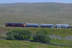 _MG_6420 (Yorkshire Pics) Tags: 0507 05072018 5thjuly 5thjuly2018 dales yorkshiredales ribbleheadviaduct ribblehead railways bridge railwaybridge gbrf freighttrain