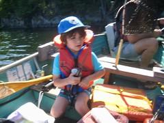 Shots of Juju fishing in my boat (REGOR NOTPUL) Tags: grandson grandpas fishing bass sunfish upper rock lake