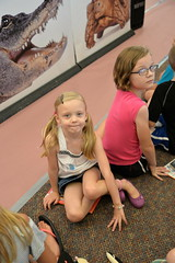 07.11.18 Wildlife Encounters at W. Clarke Swanson Branch (Omaha Public Library) Tags: omahapubliclibrary wildlifeencounters wclarkeswansonbranch summerreadingprogram librariesrock animals reading books learning wildlife program library fox snake kangaroo skunk kookaburra computers kids families children libraries puzzles