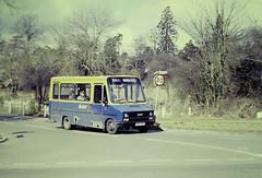 Slide 119-18 (Steve Guess) Tags: surrey england gb uk bus tillingbourne hobbit iveco robin hood minibus route547 d425xpj